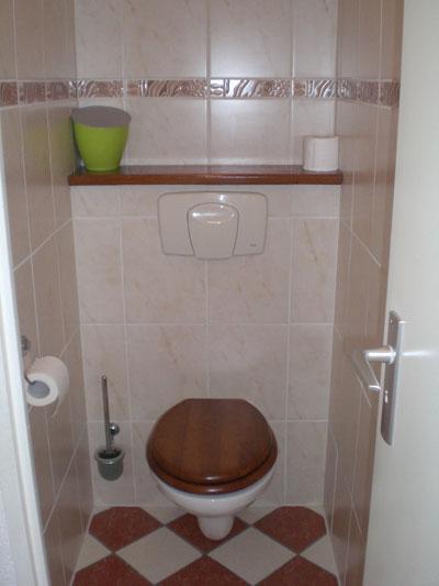 douche/toilet op de etage