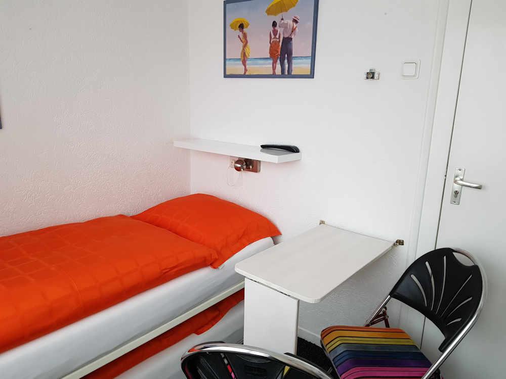 kleine kamer voor 1 of 2 personen